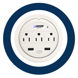 Power Desk Outlets and Surge Protectors
